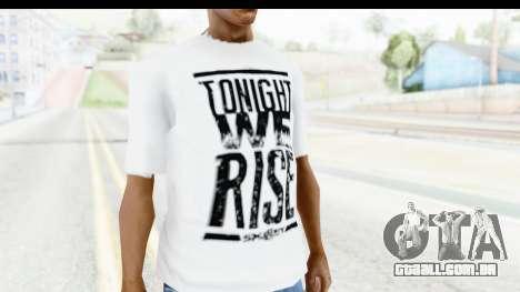 Nike Just Do It T-Shirt para GTA San Andreas segunda tela