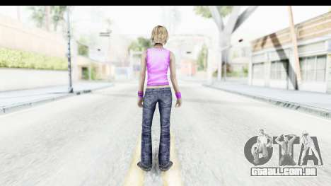 Silent Hill 3 - Heather Sporty Neon Pink para GTA San Andreas