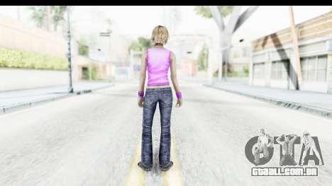 Silent Hill 3 - Heather Sporty Neon Pink para GTA San Andreas terceira tela