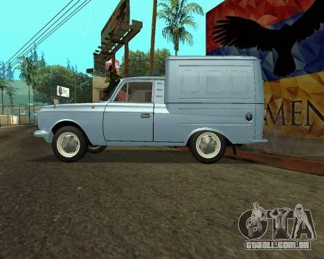 Moskvich 2715 Arménio para as rodas de GTA San Andreas