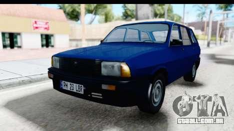 Dacia Liberta para GTA San Andreas traseira esquerda vista
