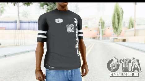 Adidas 03 T-Shirt para GTA San Andreas segunda tela