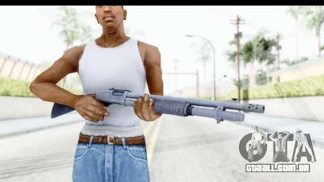 Remington 870 Tactical para GTA San Andreas terceira tela