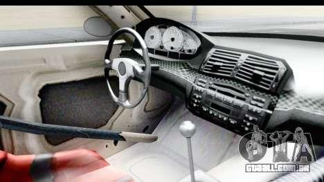 NFS Carbon - BMW M3 GTR para GTA San Andreas vista interior