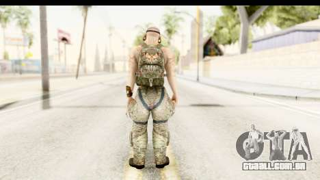 CrimeCraft Male Rogue para GTA San Andreas terceira tela