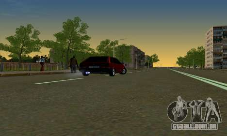 2109 para GTA San Andreas vista interior