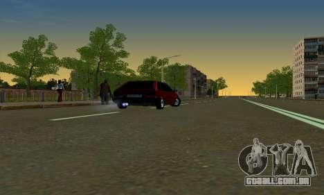 2109 para GTA San Andreas vista interior