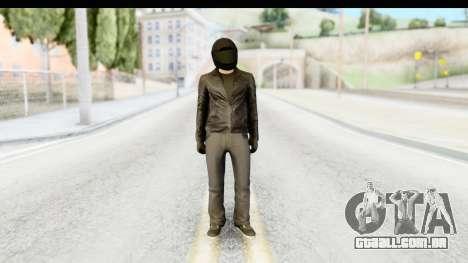 GTA 5 Heists DLC Male Skin 2 para GTA San Andreas segunda tela