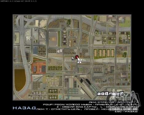 Pinte a garagem para GTA San Andreas sexta tela