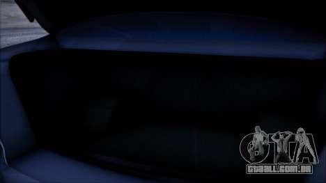 Mitsubishi Lancer GVR para GTA San Andreas vista traseira