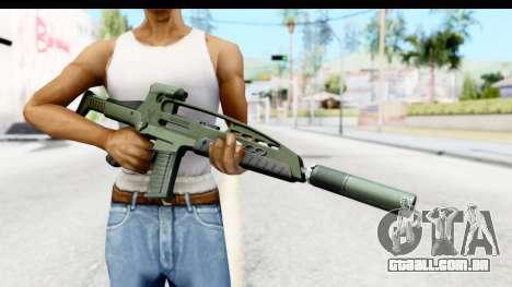 H&K XM8 Silenced para GTA San Andreas terceira tela