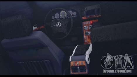 Mercedes-Benz W140 para GTA San Andreas vista superior