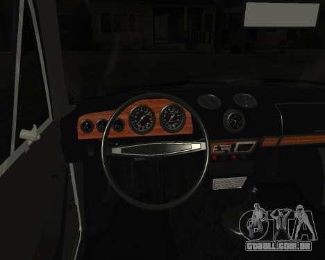 VAZ 2106 arménio para GTA San Andreas vista direita