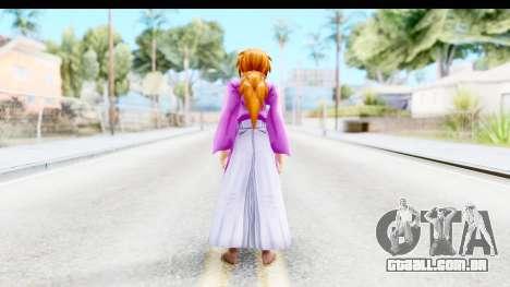 Kenshin v4 para GTA San Andreas terceira tela