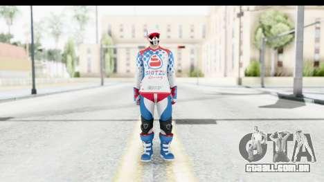 GTA 5 Online Cunning Stunts Skin 2 para GTA San Andreas segunda tela