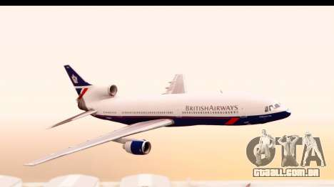 Lockheed L-1011-100 TriStar British Airways para GTA San Andreas