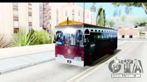 Cas Ligas Terengganu City Bus Updated para GTA San Andreas