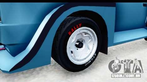 GTA 5 Obey Omnis para GTA San Andreas vista traseira