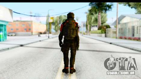 Homefront The Revolution - KPA v1 Black para GTA San Andreas terceira tela