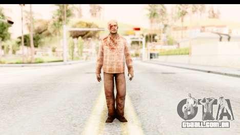 Left 4 Dead 2 - Zombie Shirt 2 para GTA San Andreas segunda tela