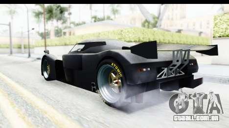 GTA 5 Annis RE7B para GTA San Andreas traseira esquerda vista