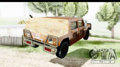 Rusted Patriot para GTA San Andreas esquerda vista