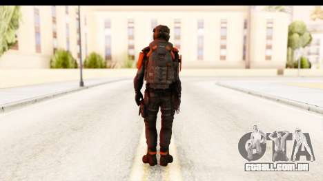 Homefront The Revolution - KPA v2 Black para GTA San Andreas terceira tela