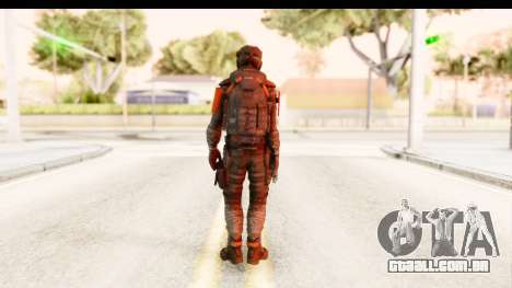 Homefront The Revolution - KPA v2 Camo para GTA San Andreas terceira tela