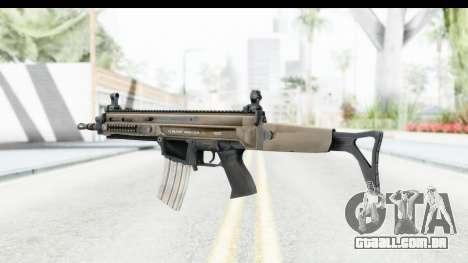 CZ-805 para GTA San Andreas segunda tela