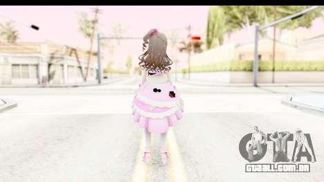 CGSS - Uzuki Peacefull Dance Rilaneko para GTA San Andreas terceira tela
