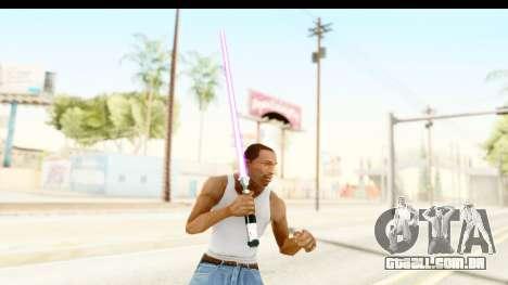 Sword Art Online II - Kiritos Saber para GTA San Andreas terceira tela