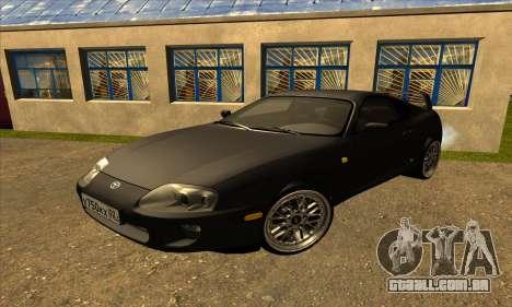 Toyota Supra Lambo para GTA San Andreas