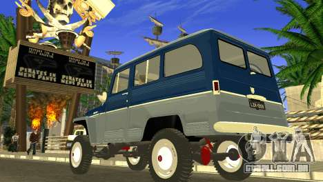 Jeep Station Wagon 1959 para GTA San Andreas esquerda vista