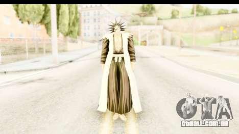Bleach - Zaraki para GTA San Andreas segunda tela