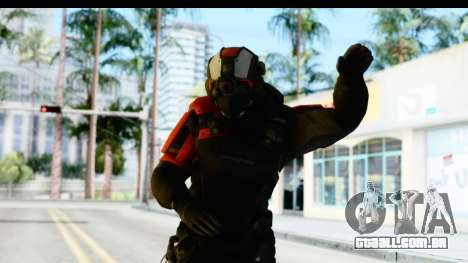 Homefront The Revolution - KPA v1 Black para GTA San Andreas