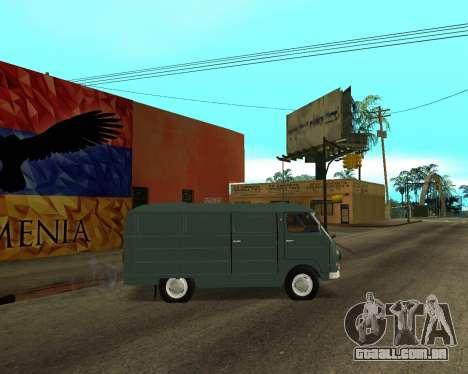 Eraz 762 Armenian para GTA San Andreas vista interior