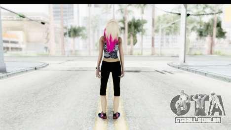 Summer Ombre Hair para GTA San Andreas terceira tela