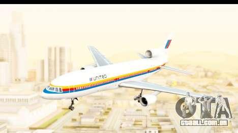 Lockheed L-1011-100 TriStar United Airlines para GTA San Andreas