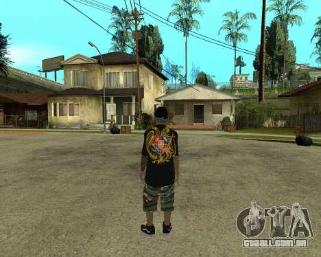 New Armenian Skin para GTA San Andreas segunda tela