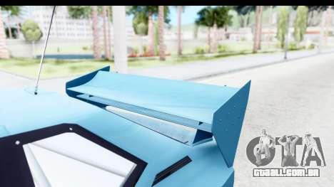 GTA 5 Obey Omnis para GTA San Andreas vista interior