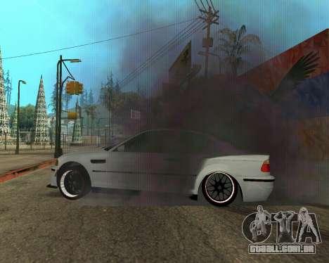 BMW M3 Armenian para as rodas de GTA San Andreas