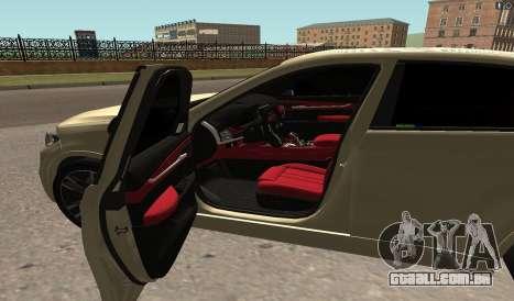 BMW X6M Bulkin para GTA San Andreas esquerda vista