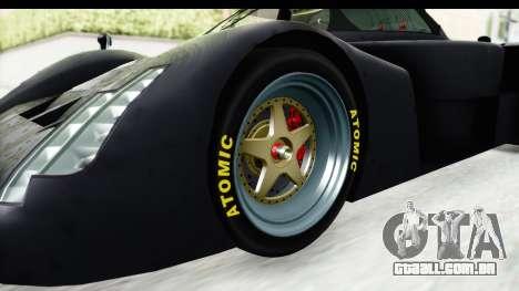 GTA 5 Annis RE7B para GTA San Andreas vista traseira