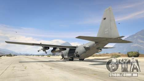 GTA 5 AC-130U Spooky II Gunship quarto screenshot