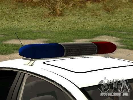 Volkswagen Passat ДПС para GTA San Andreas vista direita