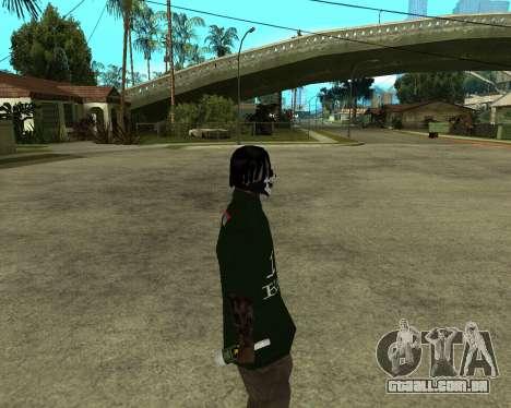 Armenian Skin para GTA San Andreas por diante tela