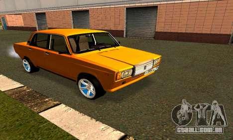 2107 para GTA San Andreas