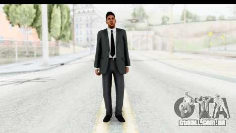 Messi Formal v2 para GTA San Andreas segunda tela