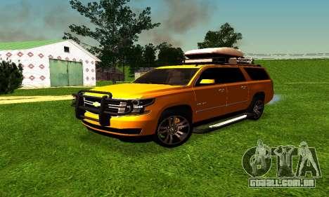 Chevrolet Suburban para GTA San Andreas