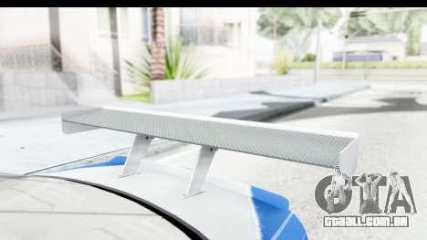 NFS: MW - BMW M3 GTR para GTA San Andreas vista interior